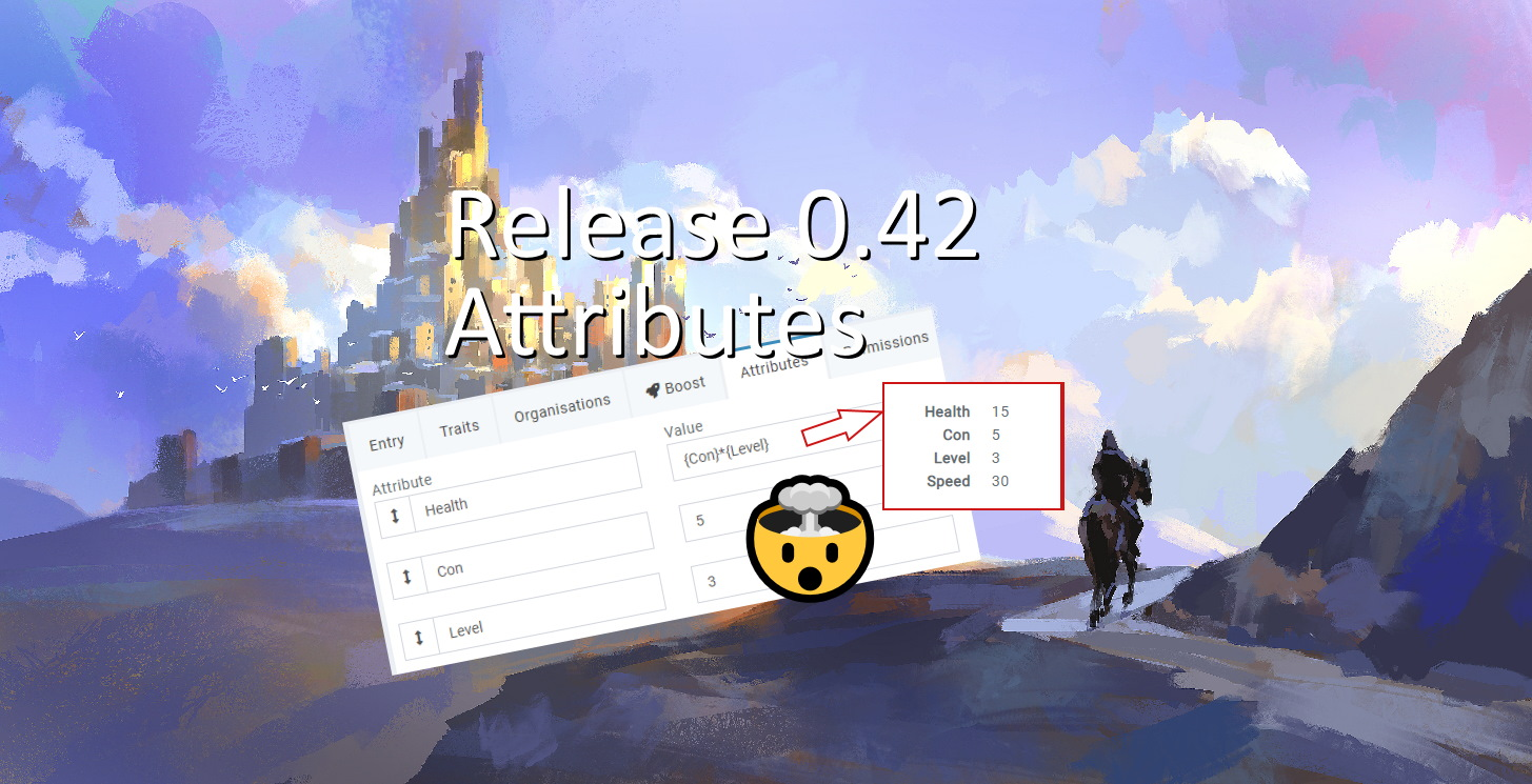 release 0.42 attributes