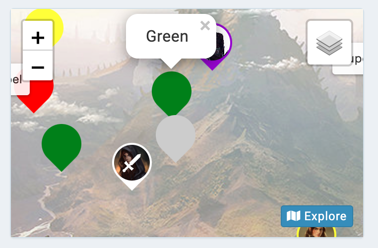 kanka campaign widget map preview