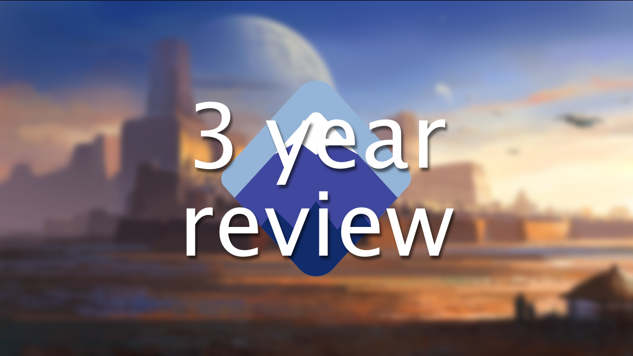 3 year review