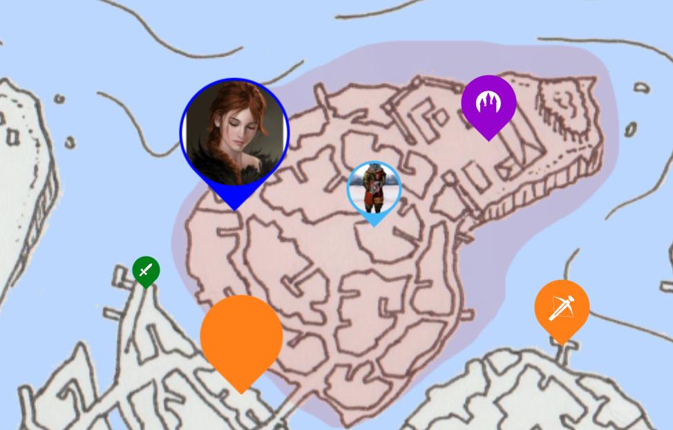 map marker custom sizes