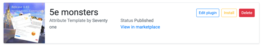 kanka marketplace delete plugin