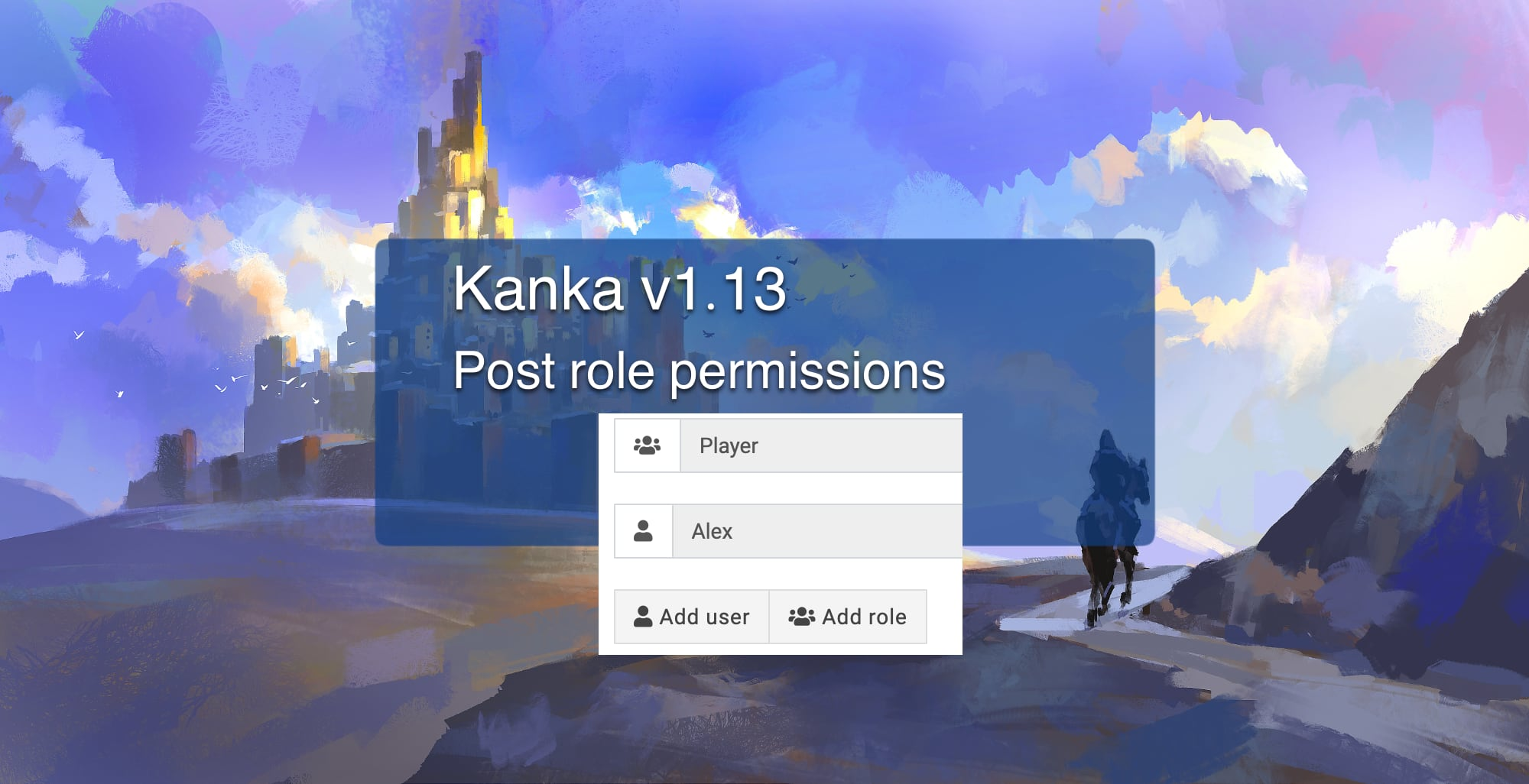 Kanka 1.13 post role permissions